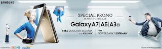 Samsung Galaxy A series 2016 Bonus Powerbank dan Voucher di Erafone