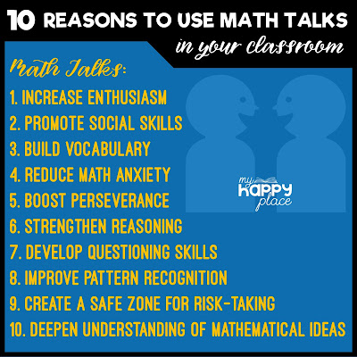 10 Reasons to Use Math Talks in Your Classroom