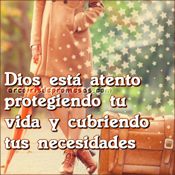 promesa de protección y cuidado La mirada del Señor