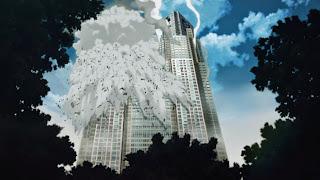 Budynek urzędu władz metropolitalnych w Tokio podczas zamachu