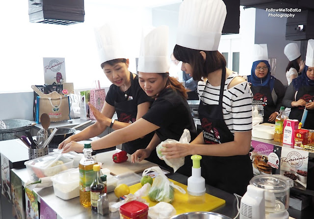 Team Work & Staying Focus During Our Cooking Challenge