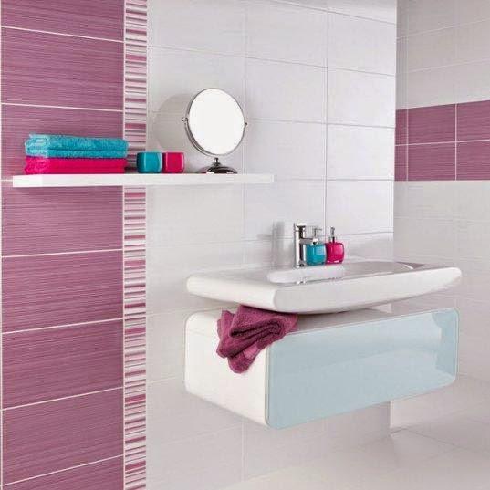 12 Modern & Bright Bathroom Designs
