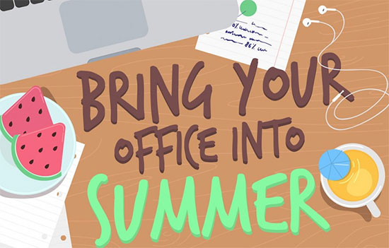 How to Enjoy Summer in the Office - by Wrike project management software