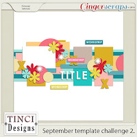September Template Challenge 2 by Tinci Designs