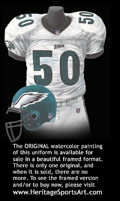 Philadelphia Eagles 1999 uniform