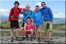 Oteros mendiaren gailurra 1.036 m. - 2018ko ekainaren 9an