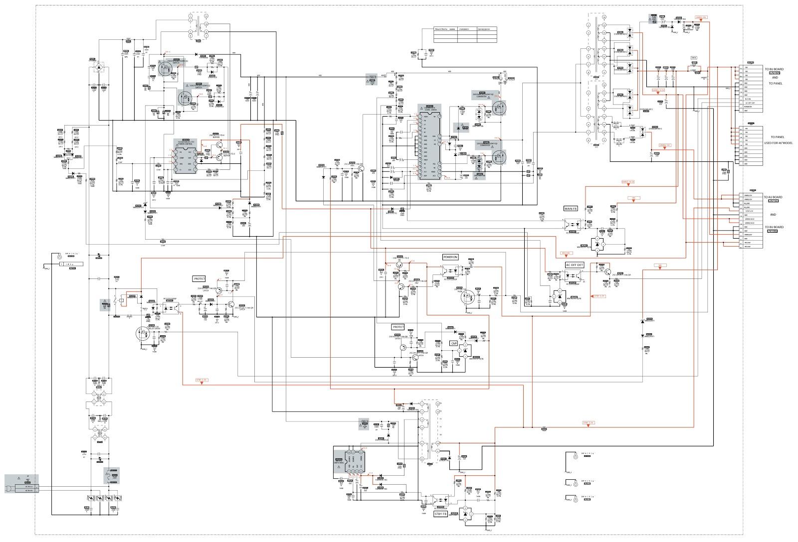 sony klv 32ex330 circuit diagram