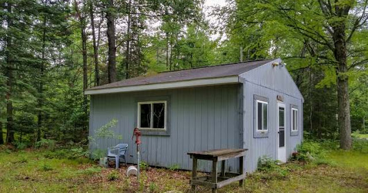 Clare County Hunting Cabin on 30 Wooded Acres! Price Reduction at 2945 Strawberry Avenue, Lake