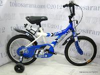 Sepeda Anak Pliko 16BXC Trans World Sport 16 Inci