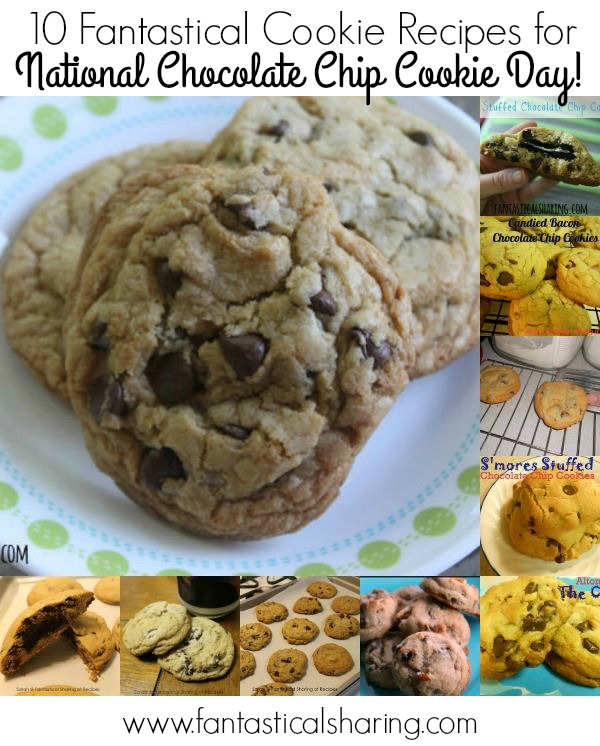 10 Fantastical Cookie Recipes for National Chocolate Chip Cookie Day #recipe #cookie #chocolate #dessert