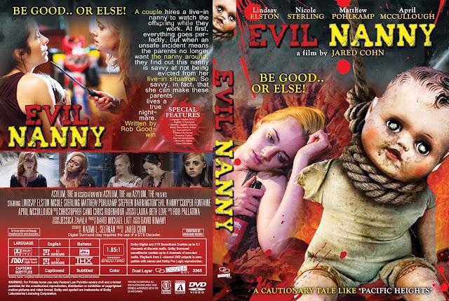 Evil Nanny DVD Cover