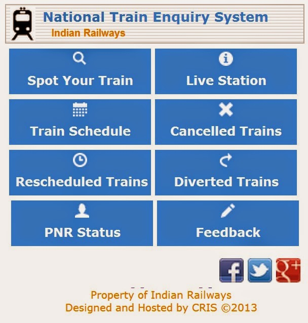 Mobile Train Enquiry System Live Train Station Status Spot