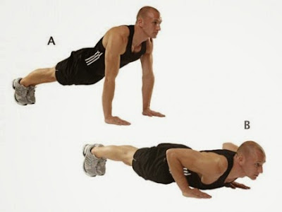 How to reach 100 in the push-ups with ease exercises