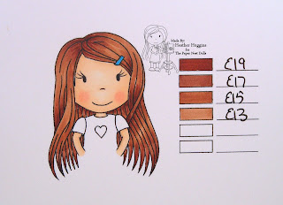 The Paper Nest Dolls - Copic Hair Color