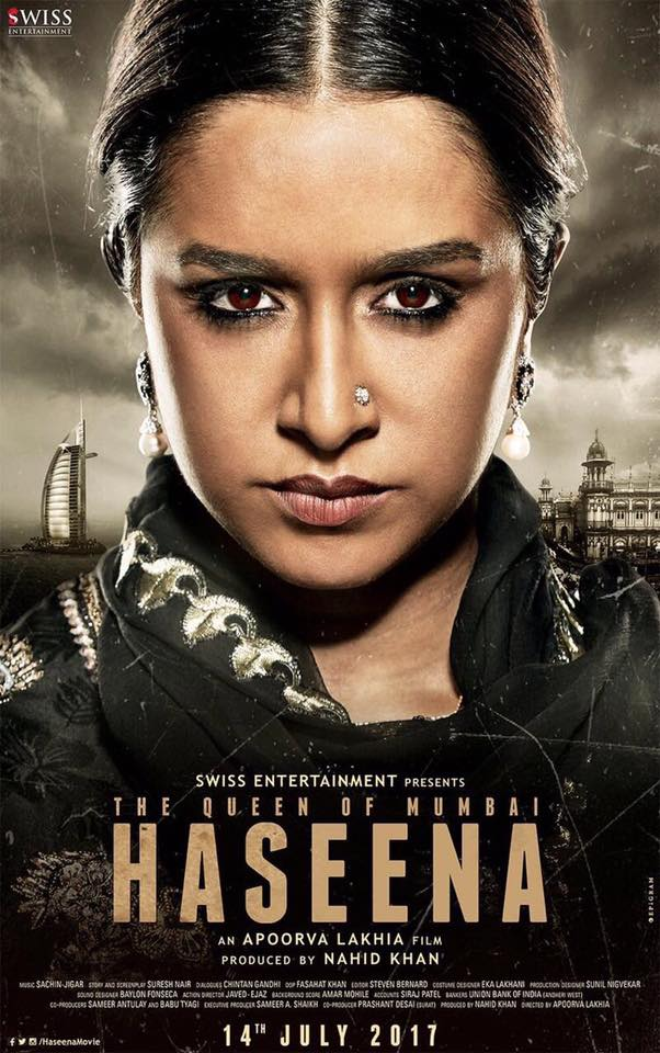 Haseena The Queen of Mumbai next upcoming movie first look, Poster of shraddha kapoor, siddhant kapoor download first look Poster, release date
