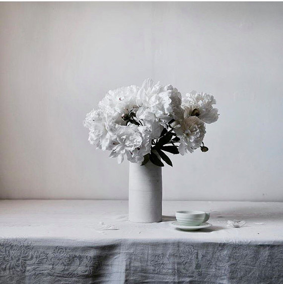 White floral still life photo by Lucy Snowe