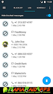 Calls Blacklist PRO - Call Blocker Apk MafiaPaidApps