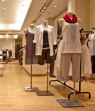 Eileen Fisher store interior from New York magazine
