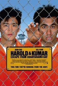 Harold & Kumar Escape from Guantanamo Bay Poster