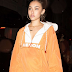MADISON BEER steps out in HERON PRESTON at PFW // .@HERONPRESTON