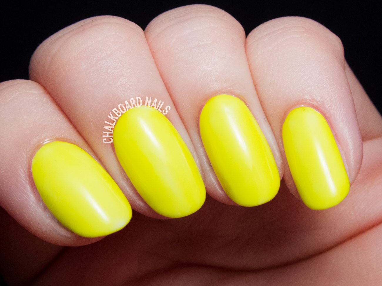 China Glaze Daisy Know My Name? via @chalkboardnails