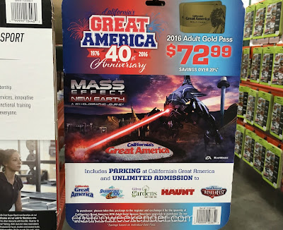 Go to Great America and save money with a 2016 Great America season pass