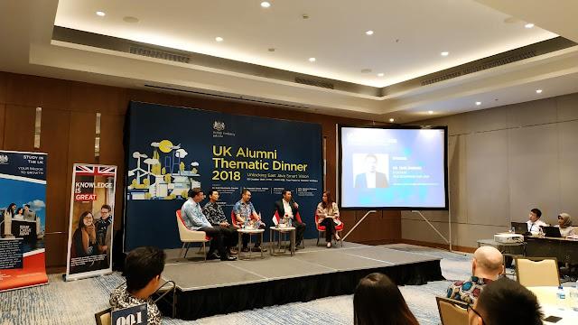 Jadi Pembicara di UK Alumni Thematic Dinner, Emil Dardak Paparkan Bagaimana Teknologi Menjawab Keterbatasan