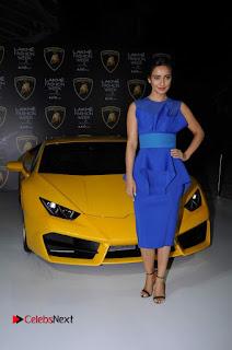 Actress Neha Sharma Latest Stills in Blue Dress at Lakme Fashion Week Summer Resort 2017  0015.jpg