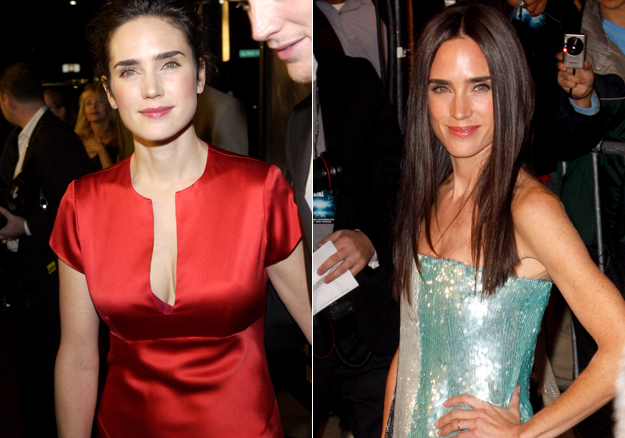 Jennifer connelly boob reduction