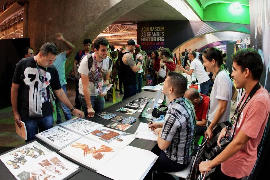 CCXP anuncia o maior Artists' Alley do Hemisfério Sul