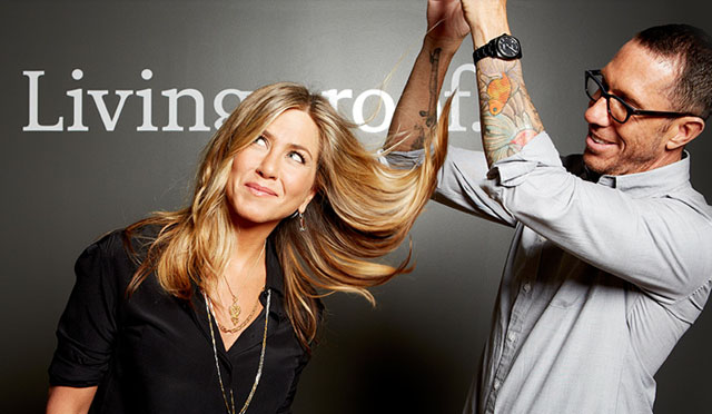 win a good hair day with Jennifer Aniston