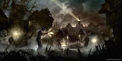The Evil Within, concept art del villaggio