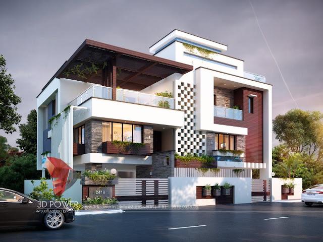 3D-Ultra-modern-Bungalow-exterior-rendering-view