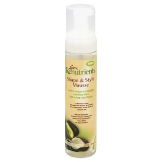 Luster's Renutrients Shape and Style Mousse