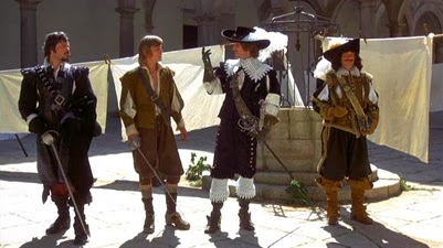 Rusty White's Film World: COMPLETE MUSKETEERS. THE: THE THREE MUSKETEERS & THE FOUR MUSKETEERS (1973/74)