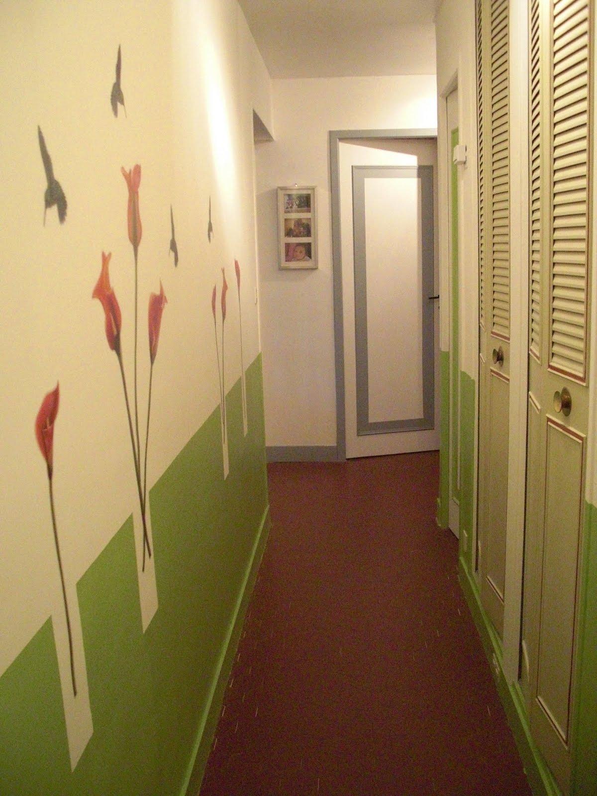 papier peint entree couloir meilleures images d. Black Bedroom Furniture Sets. Home Design Ideas
