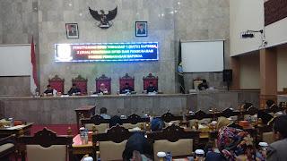 DPRD Kab Cirebon Rapat Paripurna Satu Perda Dan Dua Peraturan DPRD