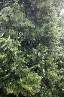 Very heavy rain