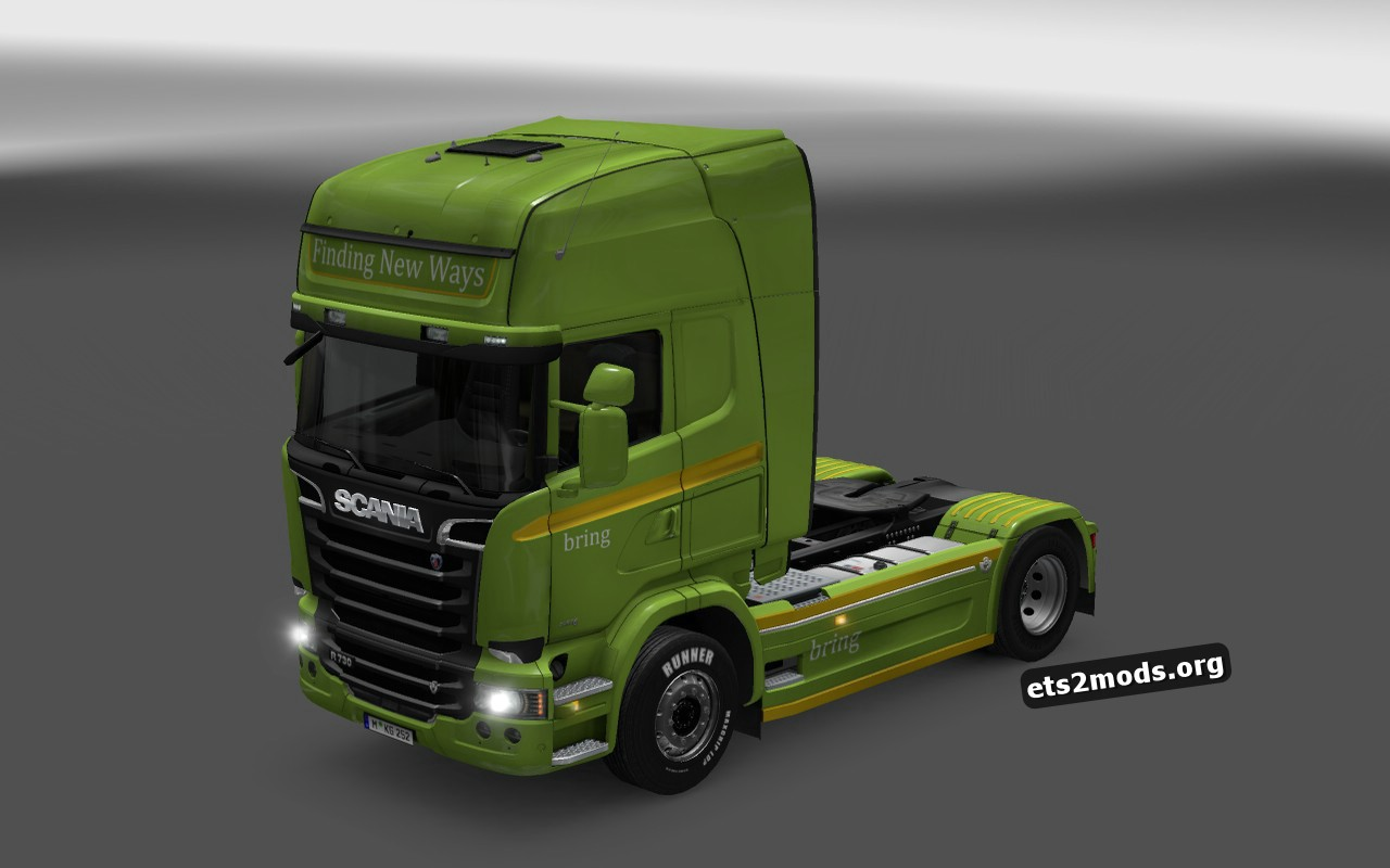 Combo Pack Finding New Ways Skin for Scania Streamline