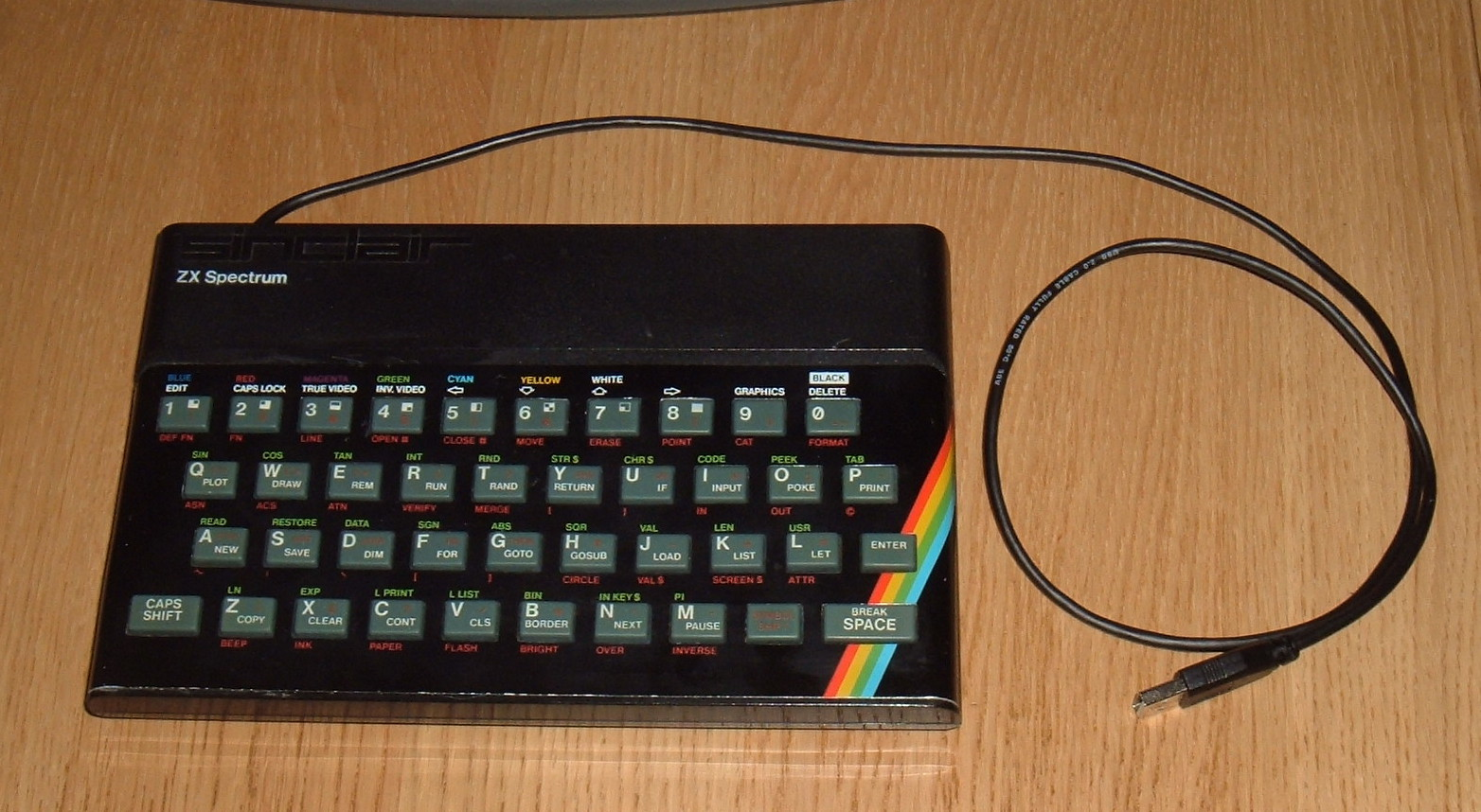 Tynemouth Software: ZX Spectrum USB Keyboard