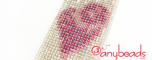 DIY Swarovski Crystal Rhinestones Cell Phone Case