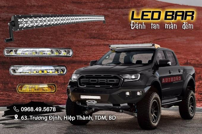 Đồ chơi xe bán tải : Đèn Led Bar stedi, Led bar GTR mẫu đèn phá sương - phá mưa - ánh sáng bám đường cực tốt .