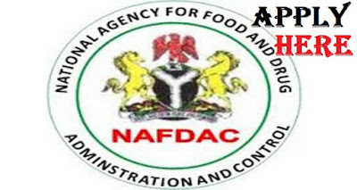 2018 National Agency for Food and Drug Administration Control Recruitment | Apply Here Now