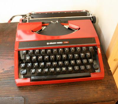 タイプライターsilverreed715