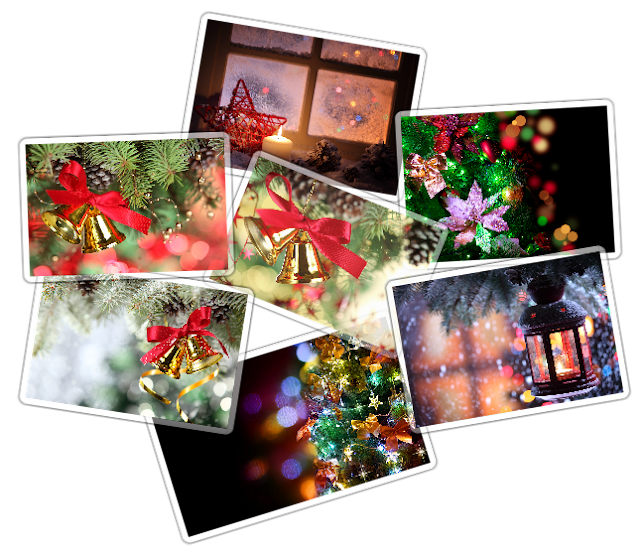 Fondos decorativos navideños HD [Deposit Files]