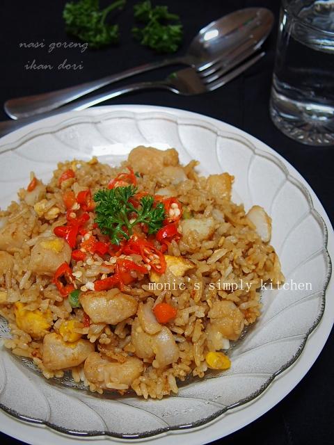 resep nasi goreng ikan dori
