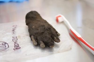 Χάλκινο χέρι που σχετίζεται με τη λατρεία του Jupiter Dolichenus  βρέθηκε στην Ισπανία