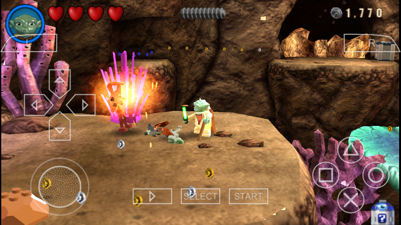 (PSP Android) Lego Star Wars III: The Clone Wars | PPSSPP ...