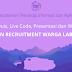 Jadwal Quiz, Live Code, Presentasi dan Wawancara Open Recruitment Warga Lab 2018