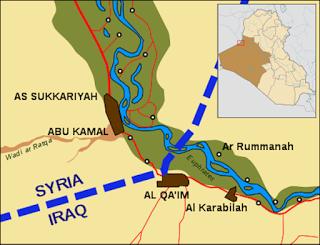 the town of al-Qa'im